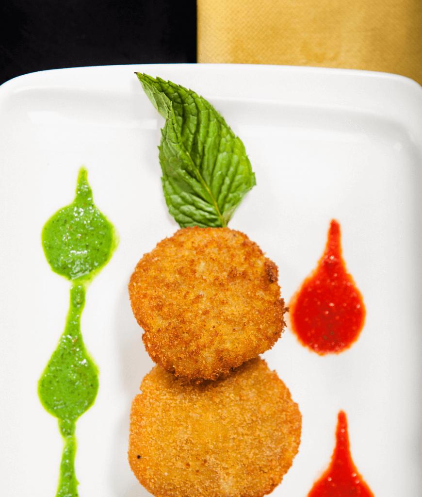 Delicious food in malta